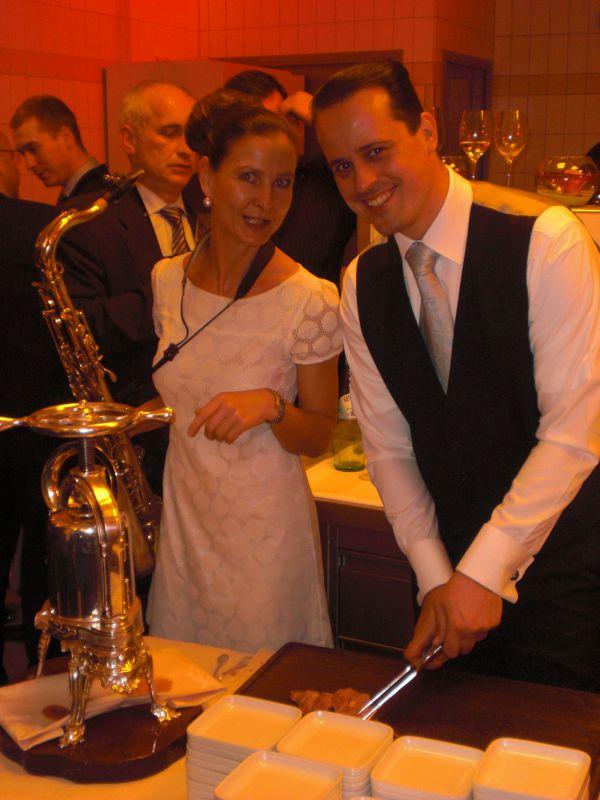 Küchenparty Adlon Kempinski Berlin mit Restaurantchef Boris Haebel