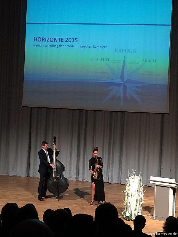 """Neujahrsempfang der Brandenburgischen Kammern """"Horizonte 2015"""""""