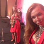 Jazzband mit Sängerin, Dinnerbegleitung